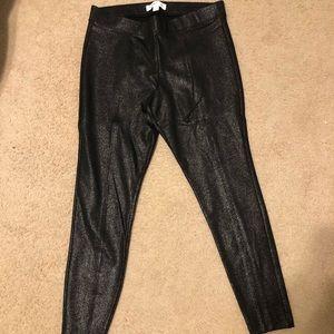Black old navy sparkle Stevie pants